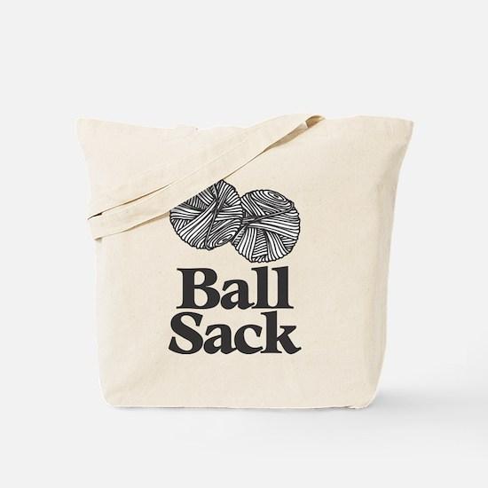 Cute Ball sack Tote Bag