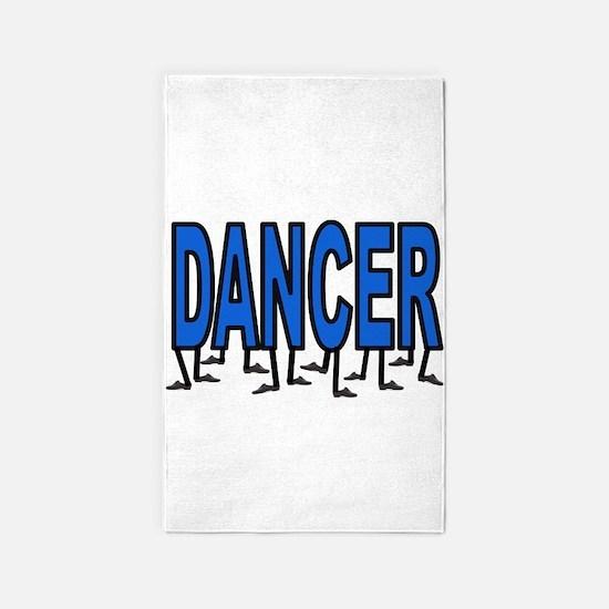 DANCING FEET 3'x5' Area Rug