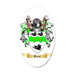 Barni Oval Car Magnet