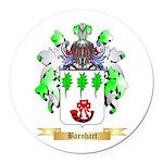 Barnhart Round Car Magnet