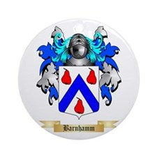 Barnhamm Ornament (Round)