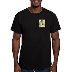 Barnet Men's Fitted T-Shirt (dark)