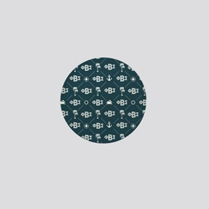 Phi Beta Sigma Mini Button