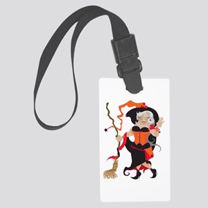 Granny Hex Large Luggage Tag