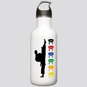 Karate Boy Water Bottle