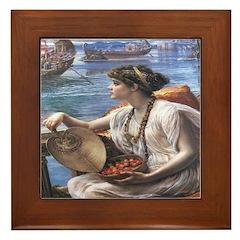 Sea Voyage Framed Tile