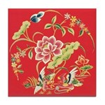 Medieval Chinese Ceramic Tile