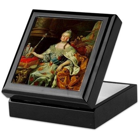 Russia's Catherine the Great Keepsake Box