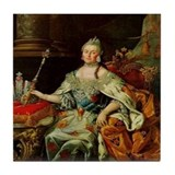 Catherine the great Tile Coasters
