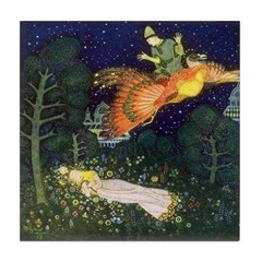 Russian Firebird Fairytale Tile