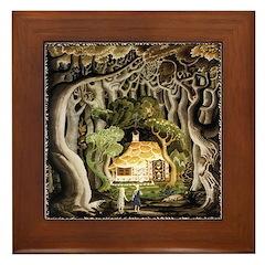 Hansel & Gretel Framed Tile