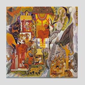 Mayan Tile Coaster
