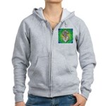Dollar Sign Pop Art Zip Hoodie