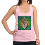 Dollar Sign Pop Art Racerback Tank Top