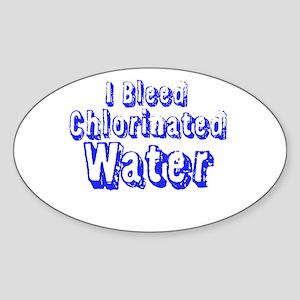 I Bleed Chlorine Sticker