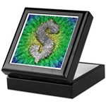 Dollar Sign Pop Art Keepsake Box