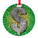 Dollar Sign Pop Art Ornament