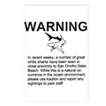 San O Great White Shark Postcards (8pak)