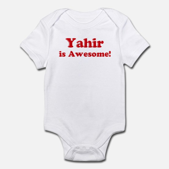 Yahir is Awesome Infant Bodysuit