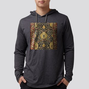 William Morris Persian Carpet Ar Mens Hooded Shirt