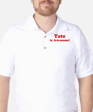 Tate is Awesome Golf Shirt