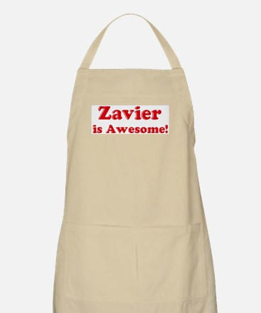 Zavier is Awesome BBQ Apron