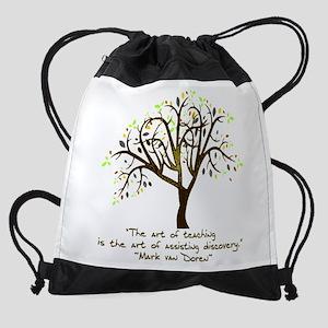 Teaching 2 Drawstring Bag