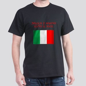 Italian Proverb Nothing New T-Shirt