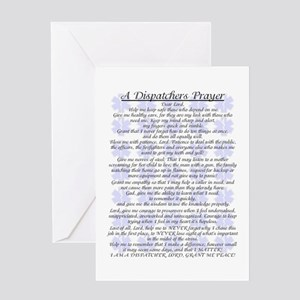DISPATCHERS PRAYER Greeting Cards