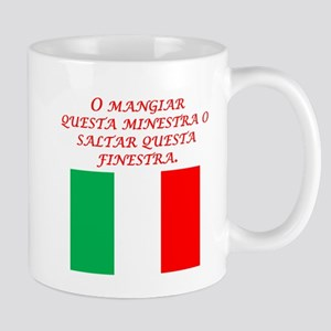 Italian Proverb Eat This Soup Mug