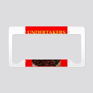 undertaker License Plate Holder