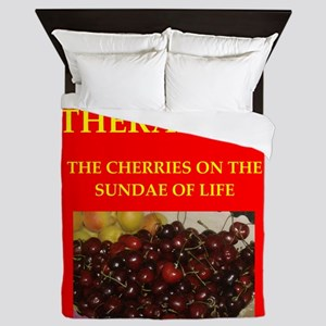 therapist Queen Duvet