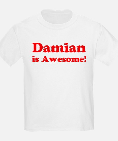 Damian is Awesome Kids T-Shirt