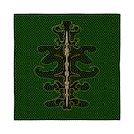 Green as Green Decor Queen Duvet