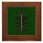 Green as Green Decor Framed Tile