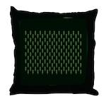 Green as Green Decor Throw Pillow