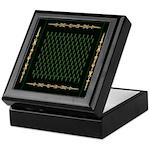 Green as Green Decor Keepsake Box