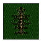 Green as Green Decor Tile Coaster