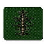 Green as Green Decor Mousepad