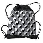 Yin Yang Drawstring Bag