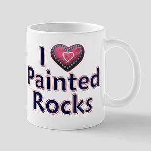 City Painted Rocks Painting Mugs