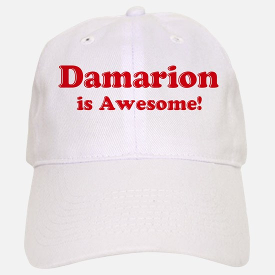 Damarion is Awesome Baseball Baseball Cap