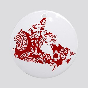Paisley Ornament (Round)