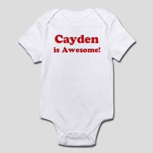 Cayden is Awesome Infant Bodysuit