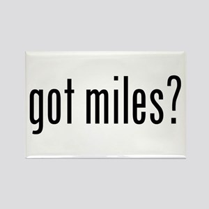 got miles? Rectangle Magnet