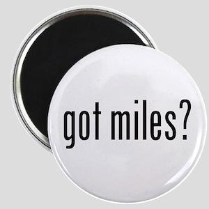 got miles? Magnet