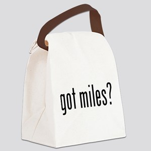 got miles? Canvas Lunch Bag