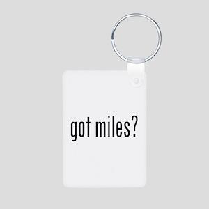 got miles? Keychains