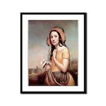 The Rose of Sharon Framed Print