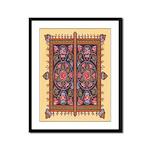 Russian Tile Design Framed Print